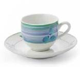 PENSO BY FADE MAISON SERVIZIO CAFFE' PATTI BLUE CON PIATTINO 6 PEZZI 51183