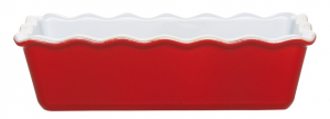 EMILE HENRY STAMPO PLUM CAKE ROSSO/ROUGE CM. 30,5x13,5x8,5 ALTEZZA EH336163