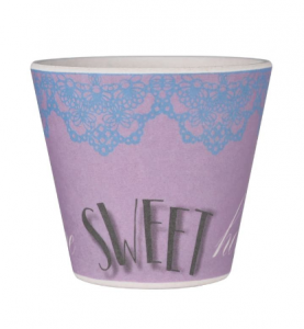 QUY cup TAZZA CAFFE' SWEET ROSE BAMB10-070
