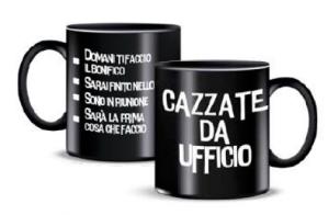 + FORTY MUG CAZZATE DA UFFICIO TZ103