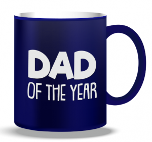 + FORTY MUG DAD OF THE YEAR TZ97-BL