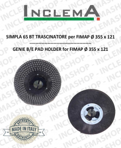 GENIE B/E TRASCINATORE (Pad Holder)  for scrubber dryer FIMAP