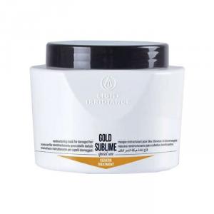 Light Irridiance Gold Sublime Keratin Treatment Mask 500ml