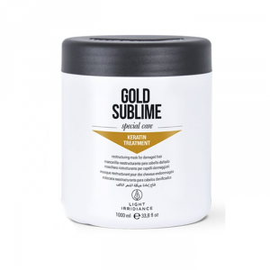 Light Irridiance Gold Sublime Keratin Treatment Mask 1000ml