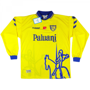 2000-01 Chievo Verona Maglia Home XL *Nuova