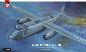 Arado Ar-234B-2/B-2N German Night Fighter