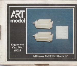 ALLISON V-1710 ENGINE SET