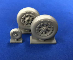 P-47D THUNDERBOLT WHEELS