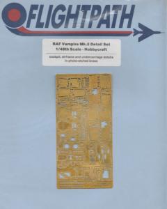 RAF VAMPIRE MK.5 DETAIL SET (HOBBYCRAFT)