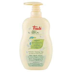TRUDI Sapone Detergente Delicato Bagno Erica e Primula 400 ml