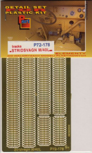 Stridsvagn M/40L Tracks IBG
