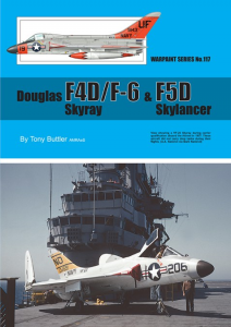 Douglas F4D/F-6 Skyray and F5D Skylancer