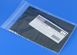 1 mm, black+white polystyrene sheets