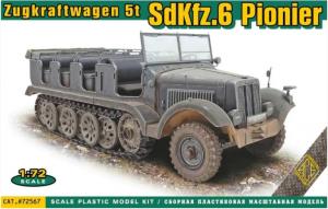 Zugkraftwagen 5t Sd.Kfz. 6 Pionier