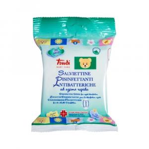 TRUDI Baby Salviettine Disinfettanti Antibatteriche 20 pz