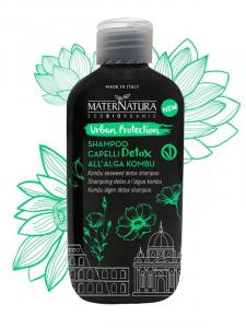 Shampoo Detox Alga Kombu Linea Urban Protection