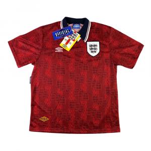 1994-95 Inghilterra Maglia Away XL *Cartellino