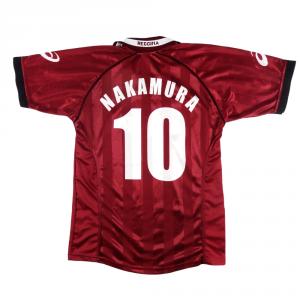 2002-03 Reggina Maglia Home #10 Nakamura M