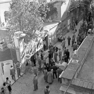 Roma, via Margutta, 1954