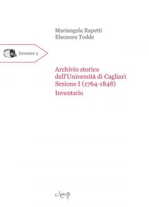 Archivio storico dell'Università di Cagliari. Sezione I (1764-1848)