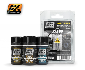 Aircraft Engine Effects Weathering Set