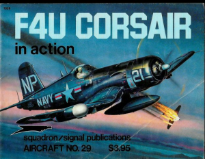 F4U CORSAIR in action