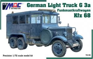 Kfz 68 Funkmastkraftwagen German Truck G3a