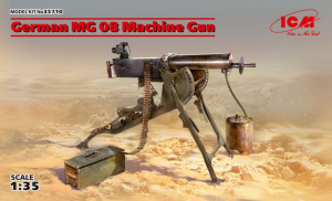 German MG08 Machine Gun