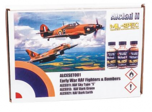 Early War RAF Fighters & Bombers Set