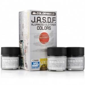 J.A.S.D.F. Aluminized Old-Timer Color Set (3 x 10ml)