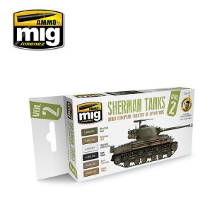 Sherman Tanks Vol. 2 (WWII European Theater of Operations) Set