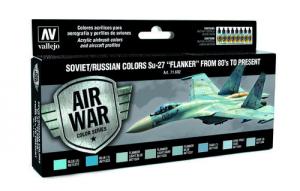 Soviet/Russian Colors Su-27