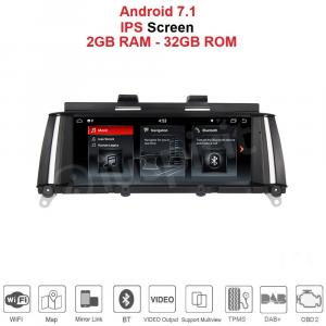 ANDROID 8.8 pollici navigatore per BMW X3 F25 2010-2012 Sistema originale CIC GPS WI-FI Bluetooth MirrorLink
