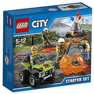 LEGO City- Set Costruzioni City Vulcano
