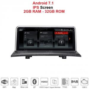 ANDROID GPS WI-FI Bluetooth MirrorLink 10.25 pollici navigatore compatibile con BMW X3 E83 2004-2009 Senza il monitor della fabbrica