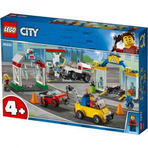LEGO City- Stazione di servizio e officina