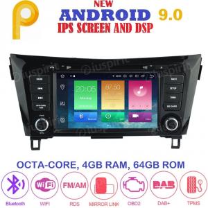 ANDROID 9.0 autoradio 2 DIN navigatore per Nissan Qashqai, Nissan X-Trail 2014-2018 GPS DVD WI-FI Bluetooth MirrorLink