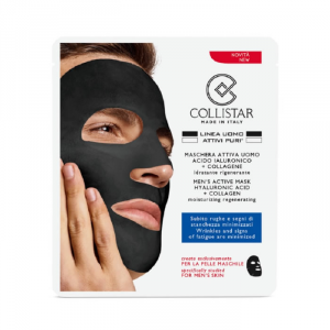 Collistar Attivi Puri Men's Active Mask Hyaluronic Acid + Collagen