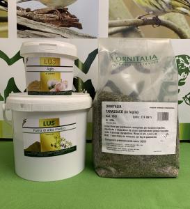 OFFERTA FARINA DI ERBA MEDICA 1kg + AGLIO 200g + TARASSACO 500g