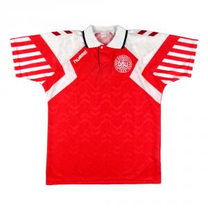 1992-94 Danimarca Maglia Home L *Nuova