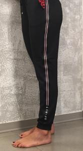 Pantalone nero tuta donna LIU JO Sport