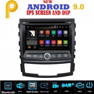 ANDROID 9.0 autoradio 2 DIN navigatore per SsangYong Korando 2010-2013 GPS DVD WI-FI Bluetooth MirrorLink