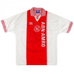 1995-96 Ajax Maglia Home L *Nuova