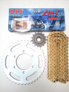 KIT TRASMISSIONE COMPLETO per KAWASAKI Z 750 - MOTOFORNITURE GF