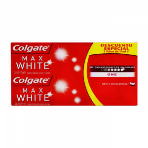 Colgate Max White One Dentifricio 2x75ml