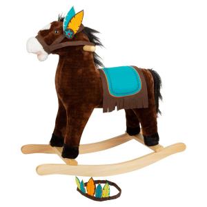 Cavallo a dondolo Indiani
