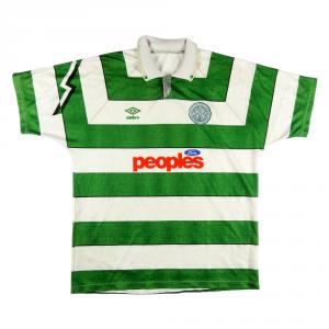 1991-92 Celtic Maglia Home XL