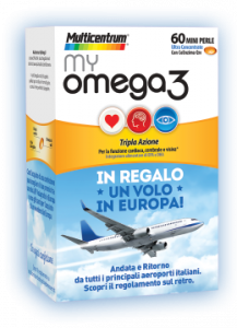 My Omega 60 mini perle In regalo un volo in Europa