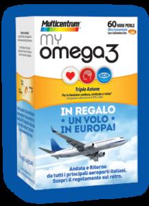 My Omega 120 mini perle In regalo un volo in Europa