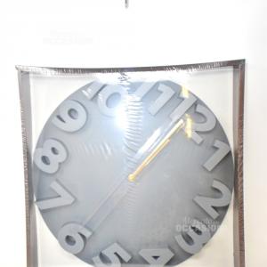 Orologio Grigio Design Casa Collection